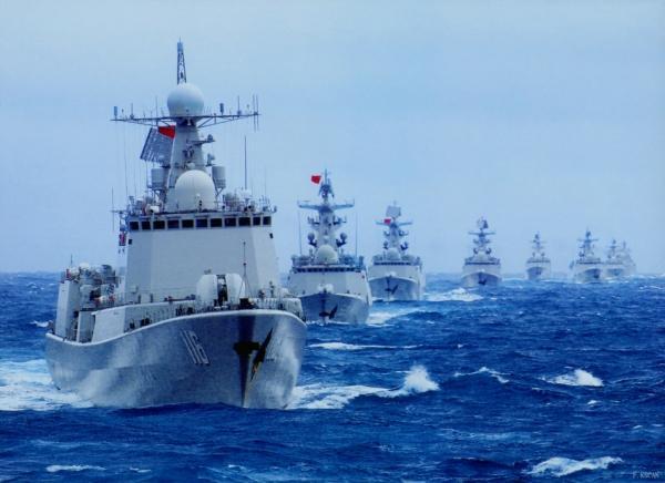 """美记者问""""南海是否必有一战"""" 军方巧妙回答"""