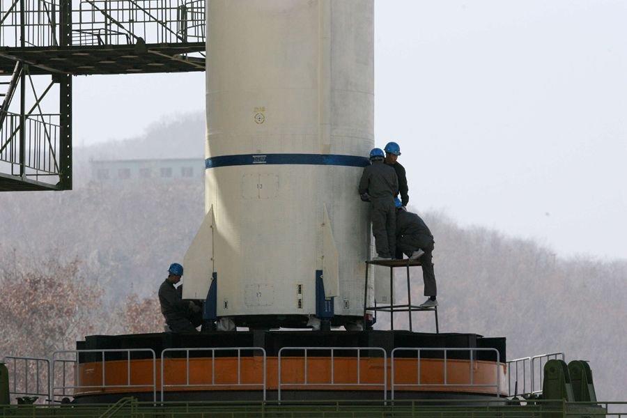 朝鲜对多国媒体开放卫星发射场