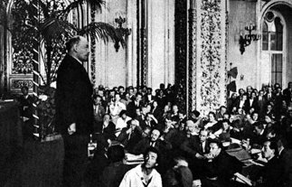 列宁在共产国际第三次代表大会上作报告