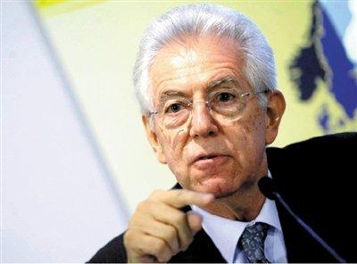 意大利总统提名蒙蒂出任总理 获最大政党支持