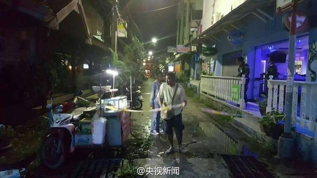 泰国华欣市深夜发生两起爆炸 1死20伤