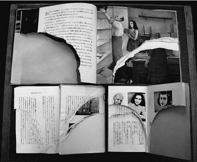 东京多家图书馆《安妮日记》遭撕毁(图)