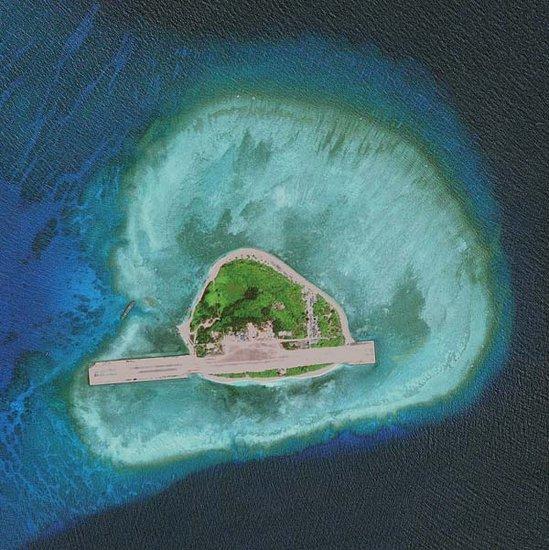 菲律宾非法侵占中国在南海8个岛礁(图)