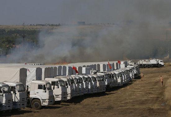"""乌克兰称消灭一支侵入境内俄罗斯""""装甲车队"""""""