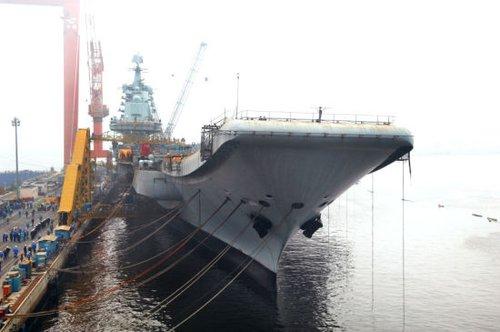党刊称发展航母标志中国海军将成世界性海军