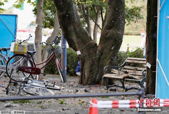 日本一公园发生多次爆炸1死3伤 死者疑前自卫官