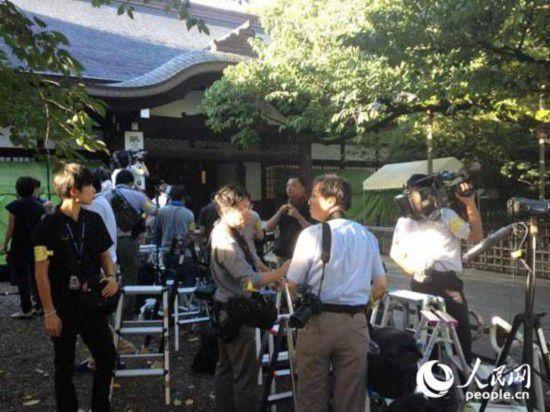 两名日本内阁成员于日本战败日参拜靖国神社