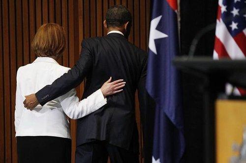 """奥巴马将驻澳兵力增至2500人 坚称""""不害怕中国"""""""