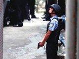 今年6月 广州男子抗拒检查枪击民警
