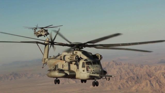 驻日美军将停飞CH-53E同类直升机 曾在冲绳两次坠机