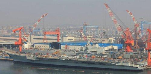 印度智库:航母使中国海军在印度洋有交战能力