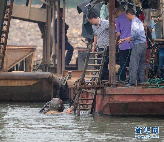 湖南邵阳沉船事故乘客核实为50人 11人遇难