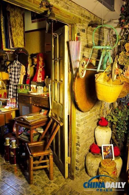 八零后女孩办老上海怀旧博物馆