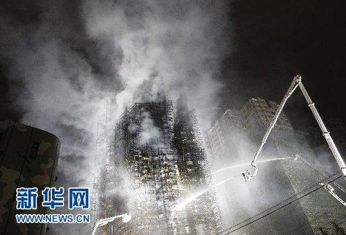 (快讯)上海静安区胶州路居民楼火灾已致42人遇难