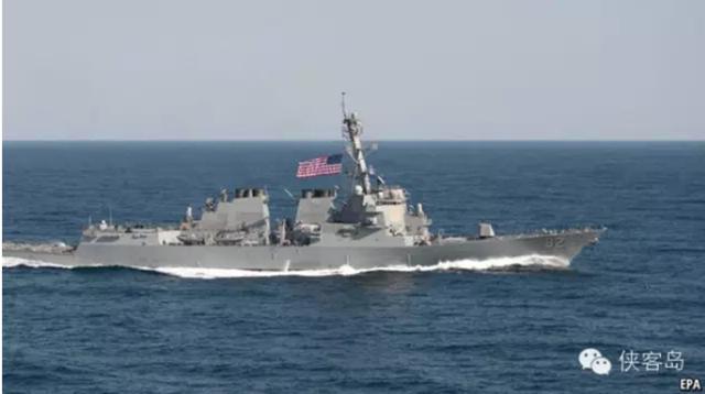 """媒体:美国在南海""""宣示航行自由"""",缺教养"""