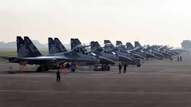 印尼在南海举行最大规模军演 称并非挑衅中国