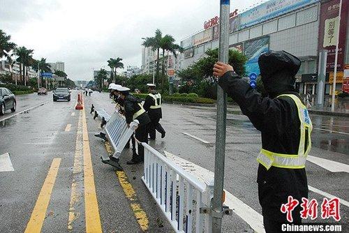 """""""纳沙""""强风豪雨致广西沿海受灾严重"""