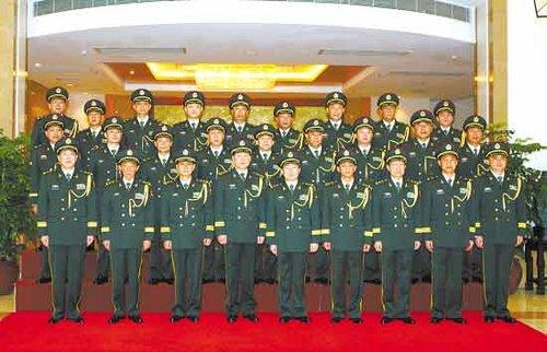 中央军委批准广州军区17军官晋升少将