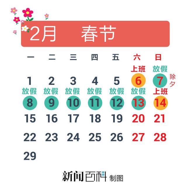 媒体支招2016年如何拼假:四个假期需调休