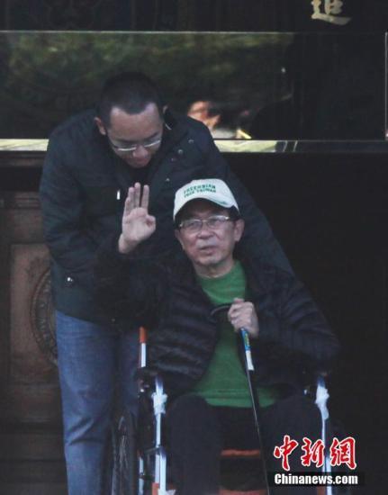 陈水扁资料图中新社发 路梅 摄