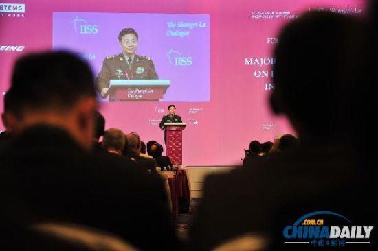 解放军副总长谈南海:美没签公约无权插手