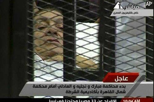 穆巴拉克律师称需1个月熟悉案情 否认拖延审判