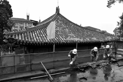 故宫大高玄殿60余年来首次大修 明年将逐步开放