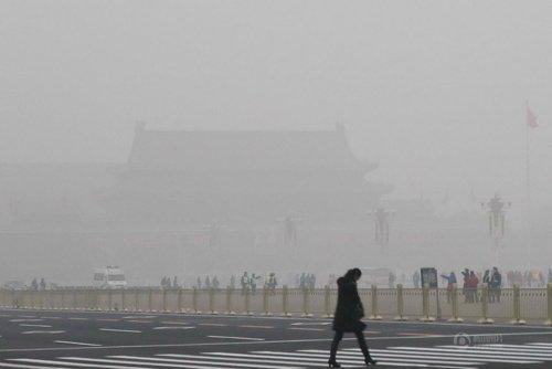北京严重污染天气将因风得改善 或再受沙尘影响