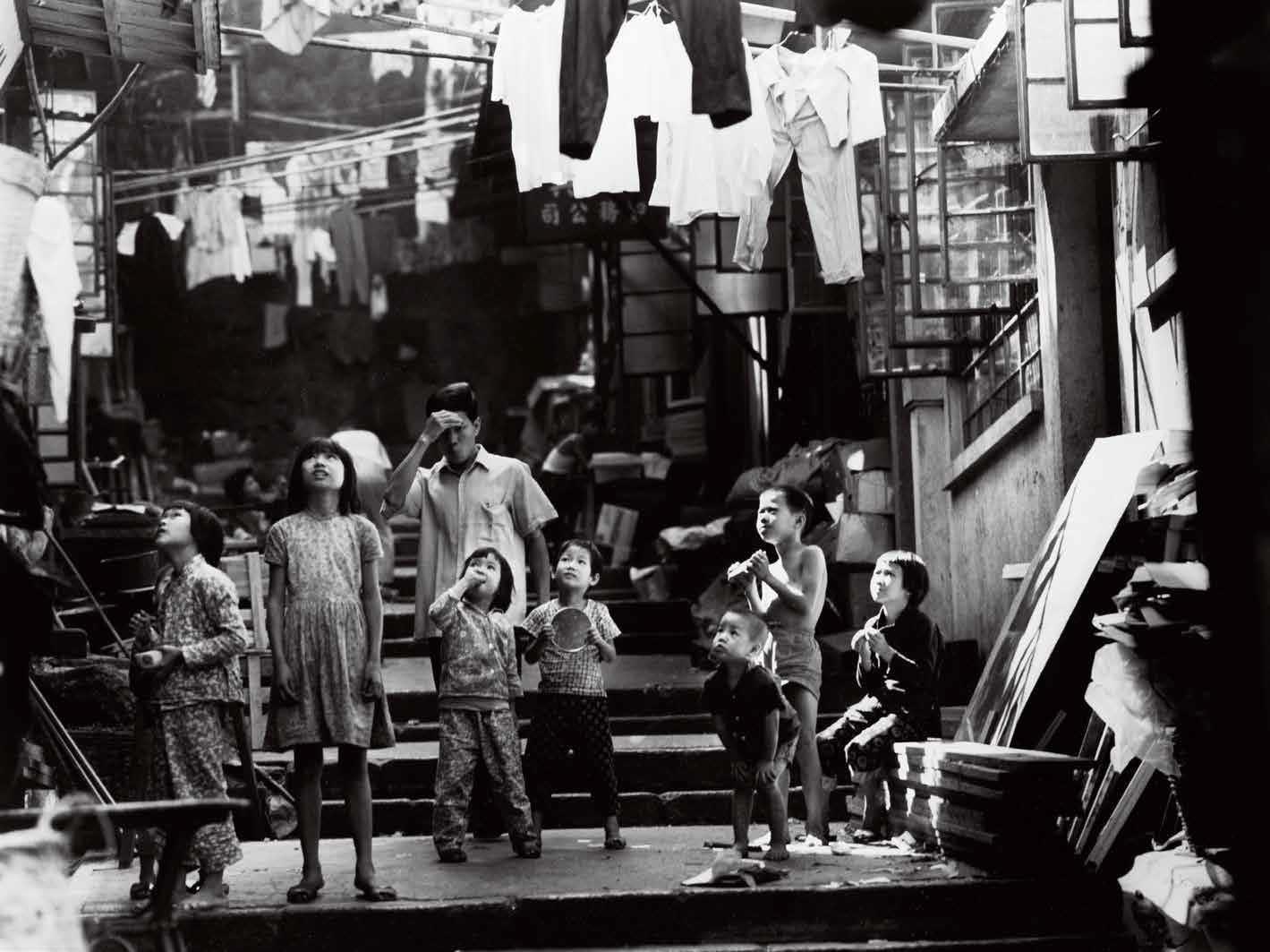 1966年,石板街附近。