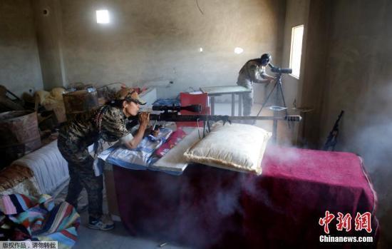 叙利亚军队收复多个油田和村镇 IS大本营拉卡不保