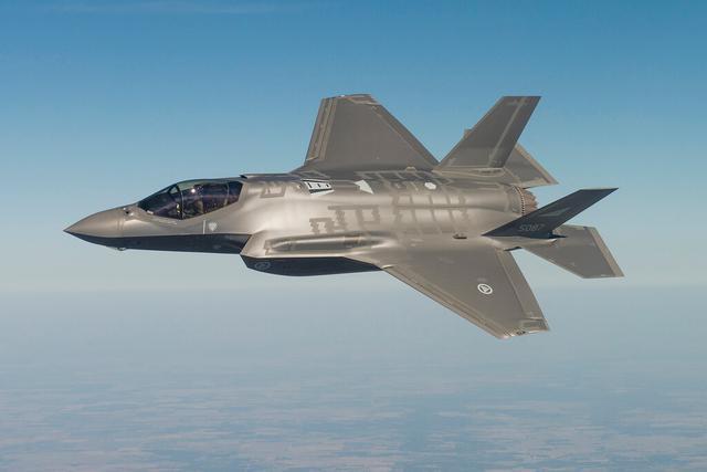 美空军高官:美国对华开战若不用F35必败无疑