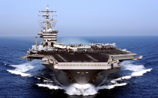韩媒:美军3艘航母同时集结在朝鲜半岛情况不会发生