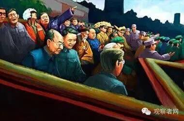 网友绘图:愿他们也在观礼台上