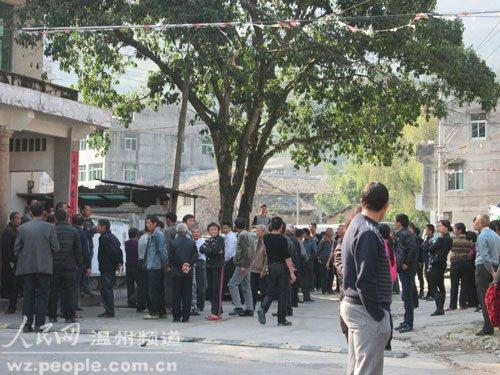 浙江瓯海政府拆迁 目击者称八旬老人被警棍打死