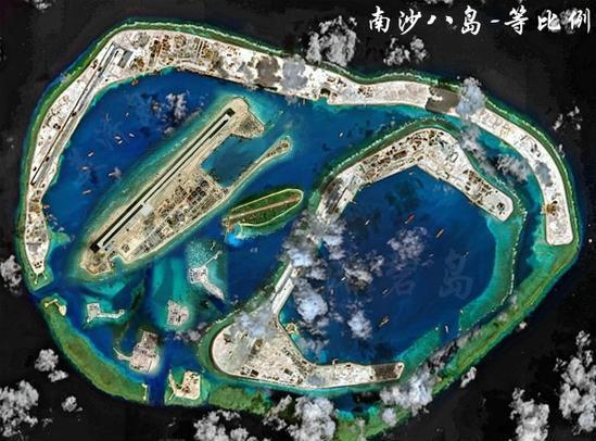 中国南海造岛哪个最大:美济岛能把另7岛都包下