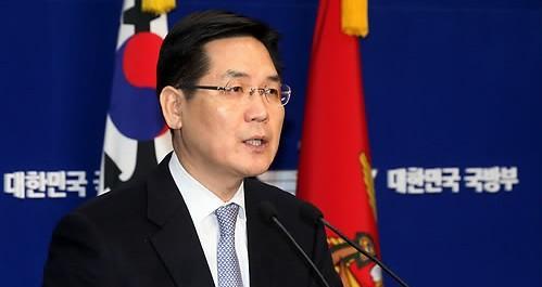 韩国国防部发言人金珉�](来源:韩国媒体)