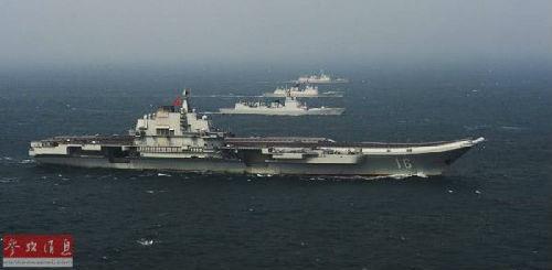 俄媒点评中俄美航母:辽宁舰综合战力已接近美俄