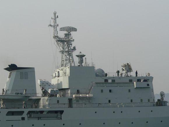 中国093B攻击核潜艇服役 可垂发巡航导弹