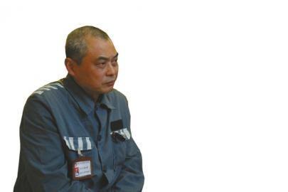 在锦江监狱服刑的成都原卫生局长周光荣。(成都市检察院供图)