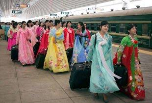 朝鲜偷渡女孩