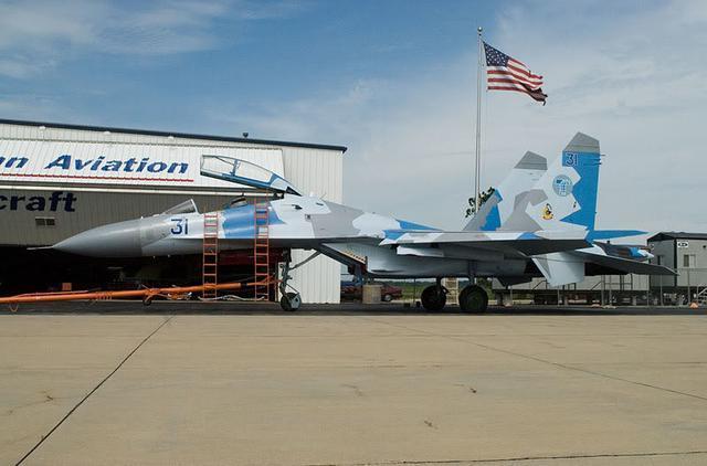 苏-27再无任何秘密可言 美国已从乌克兰买到2架