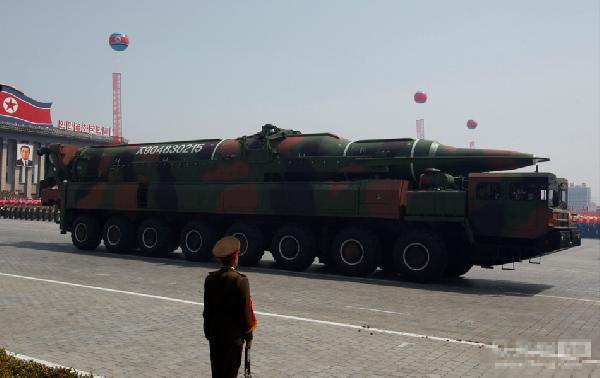 朝鲜或将射洲际导弹 韩学者:加强打击美本土的能力