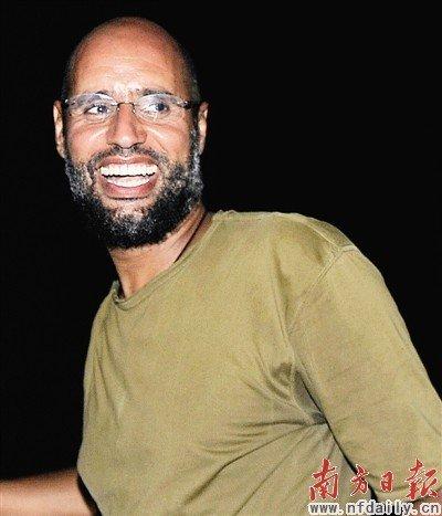 卡扎菲次子有意自首 杀死卡扎菲者将被公诉