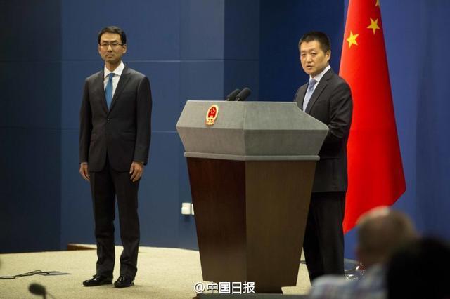 外交部新任发言人耿爽亮相 曾是驻美使馆发言人