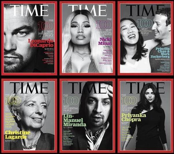 《时代》评选100大最有影响力人物 6位华人入选