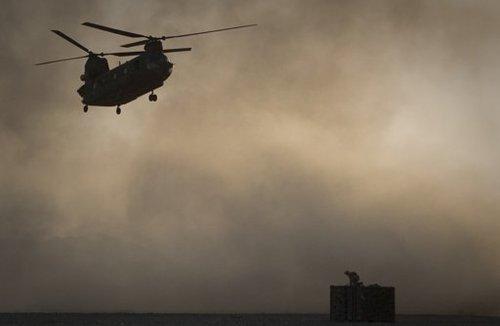 阿富汗坠机事件致22名海豹突击队成员死亡