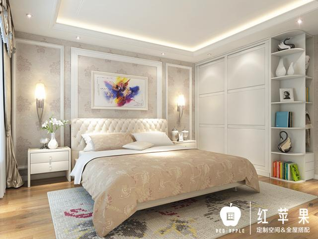 新婚卧室墙纸欧式