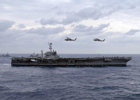 美国派出华盛顿号航母等多艘战舰赴菲律宾救灾