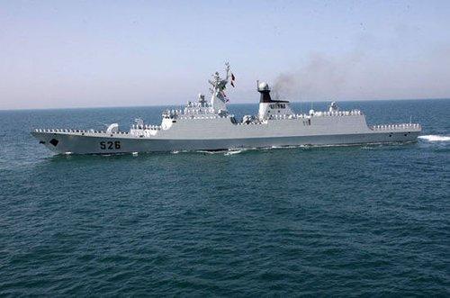 中国海军护航编队停靠巴基斯坦 参加多国军演