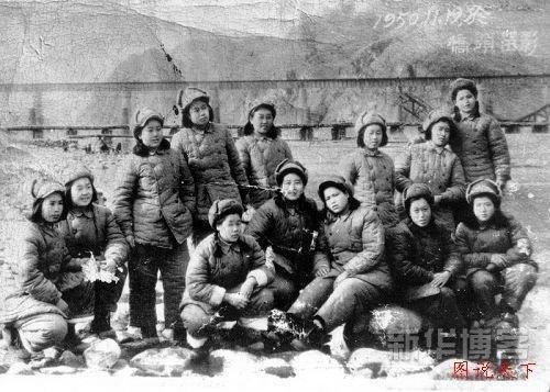 志愿军给朝鲜姑娘配种